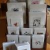 Käsinpainetut kortit kodin kaikkiin juhliin ja muistamiseen
